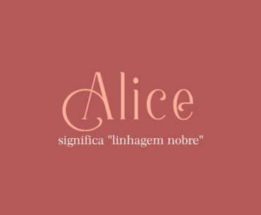 Significado do nome Alice
