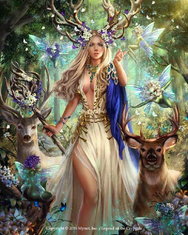 Flidias: Deusa Celta da Beleza