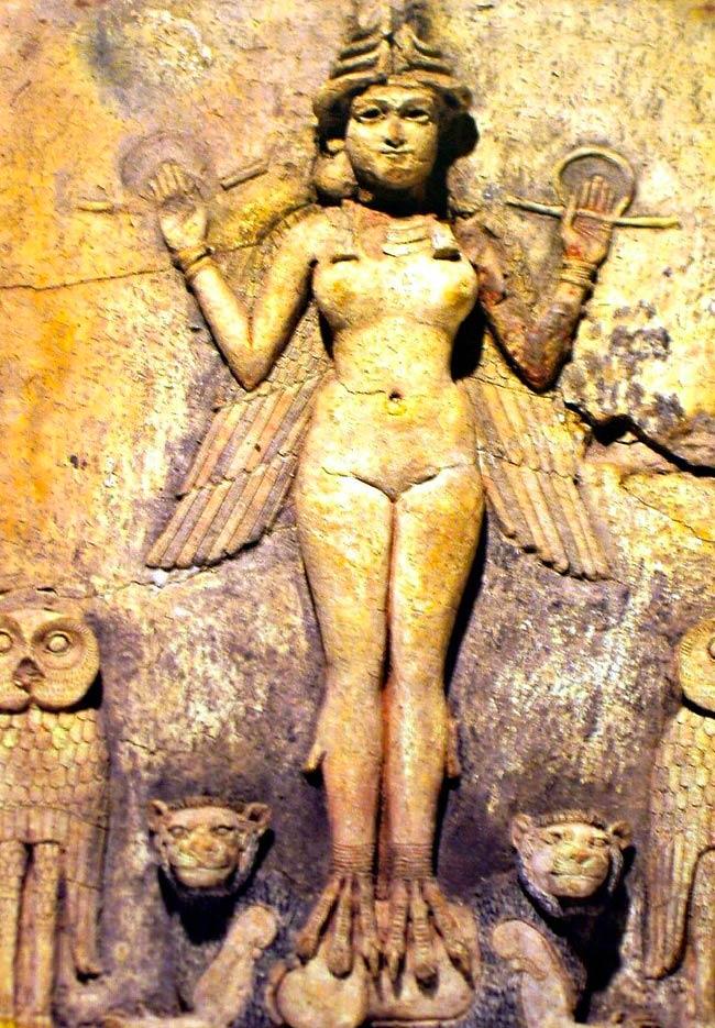 Inanna: Deusa da beleza da Mesopotâmia