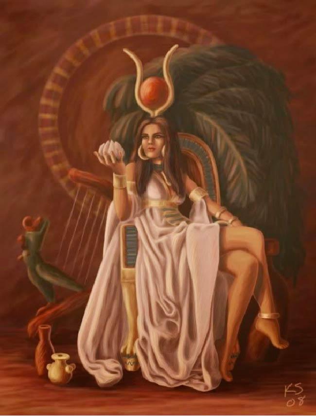 Hathor: Deusa Egípicia da Beleza