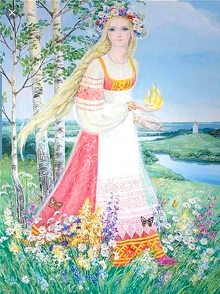 Lada: Deusa Eslava da Beleza