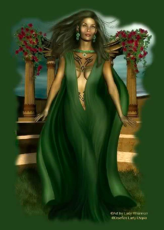 Brandwen: Deusa da beleza Galesa