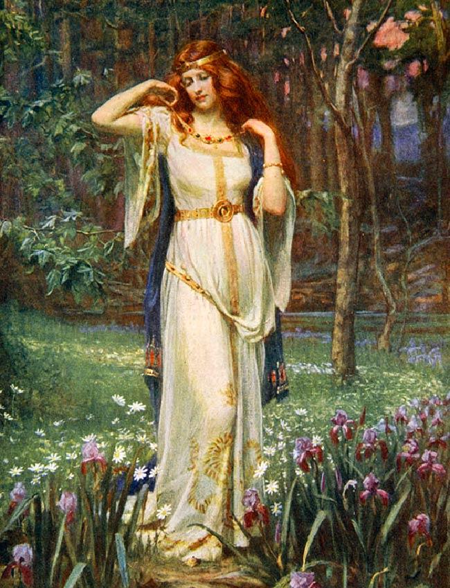 Freya: Deusa da beleza Nórdica