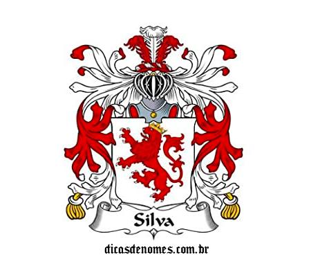 Brasão da família Silva